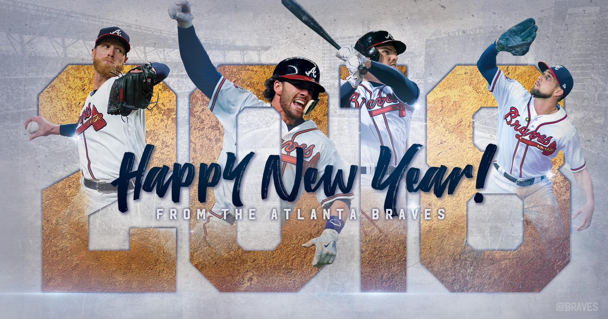 #HappyNewYear Braves Country! https://t.co/kk5J810Pmm