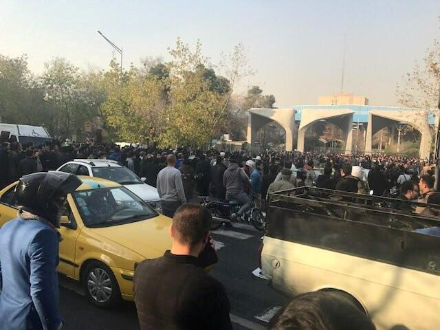 Israeli minister encourages Iran protests, says Israel is not involved