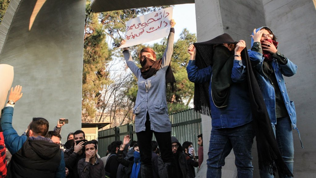 Protesters killed in Iran despite Rouhani's calls for calm
