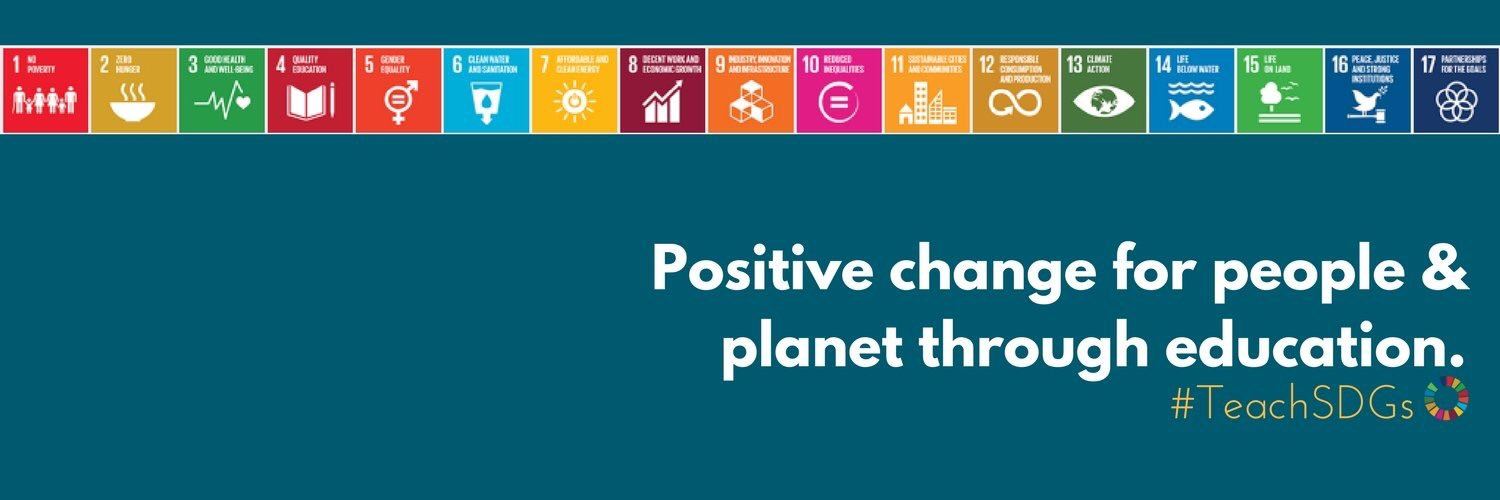 @UN Dear teachers...@TeachSDGs  A moral imperative for a sustainable future for all #bethechangetakethechallenge #teachSDGs https://t.co/nSjnKpO1ey