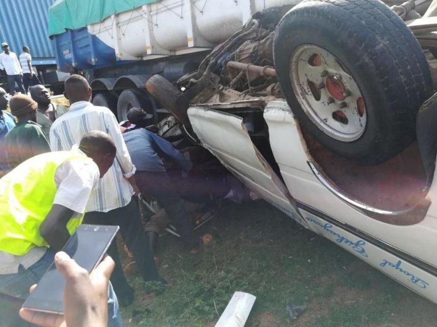 Gloom as bodies of Makueni crash victims arrive in Siaya