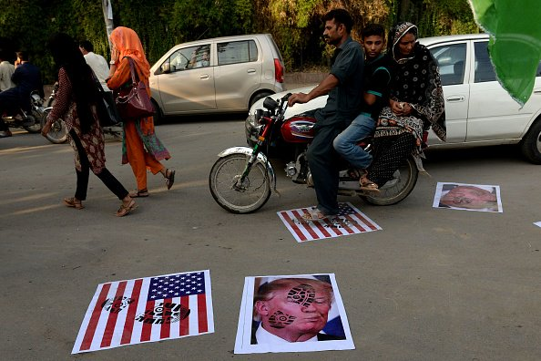 Why are Donald Trump's first 2018 tweets about Pakistan?