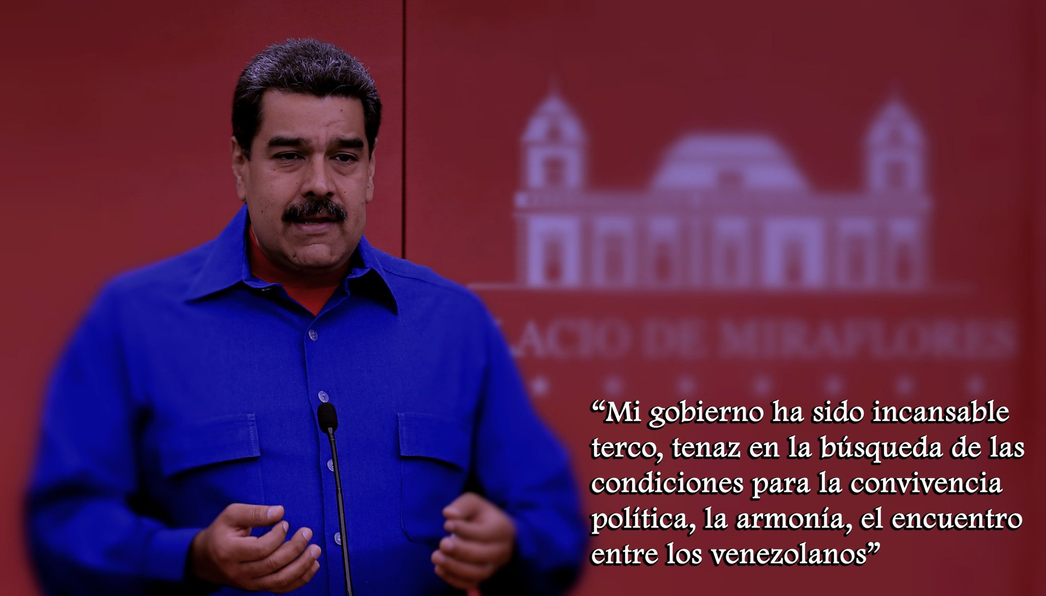 2018  6.- PALABRAS del PRESIDENTE @NicolasMaduro al pueblo venezolano https://t.co/tcidRldyis