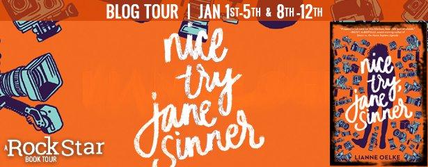 Nice Try Jane Sinner by Lianne Oelke: Spotlight & Giveaway