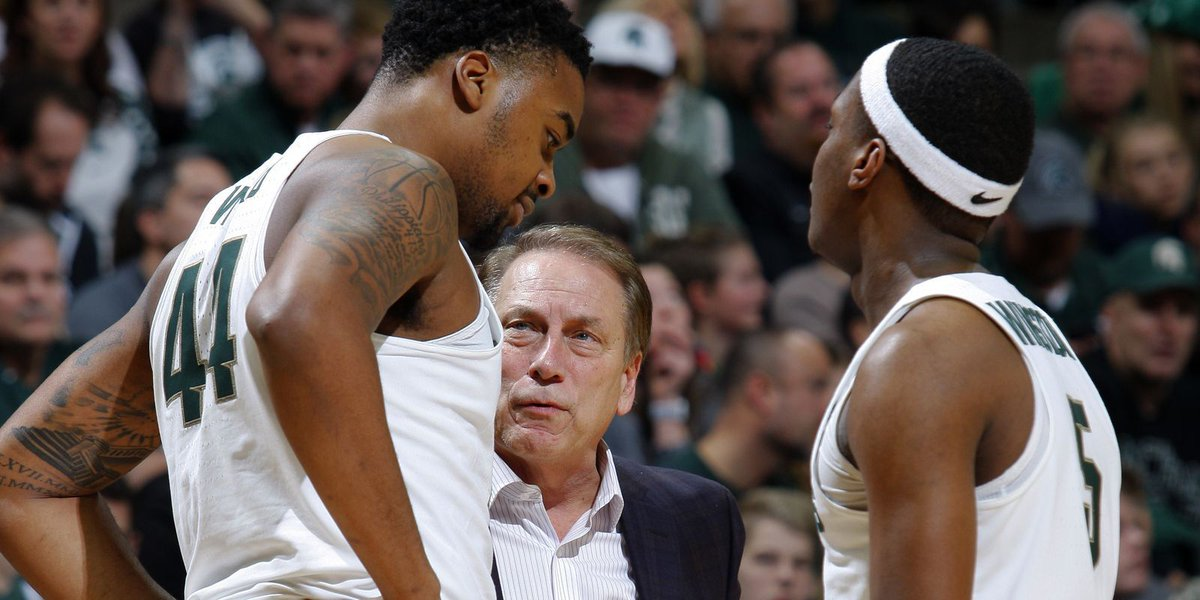 Top dogs: Michigan State No. 1 in AP college basketball poll