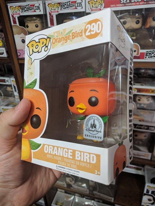 Orange Bird New Year Giveaway