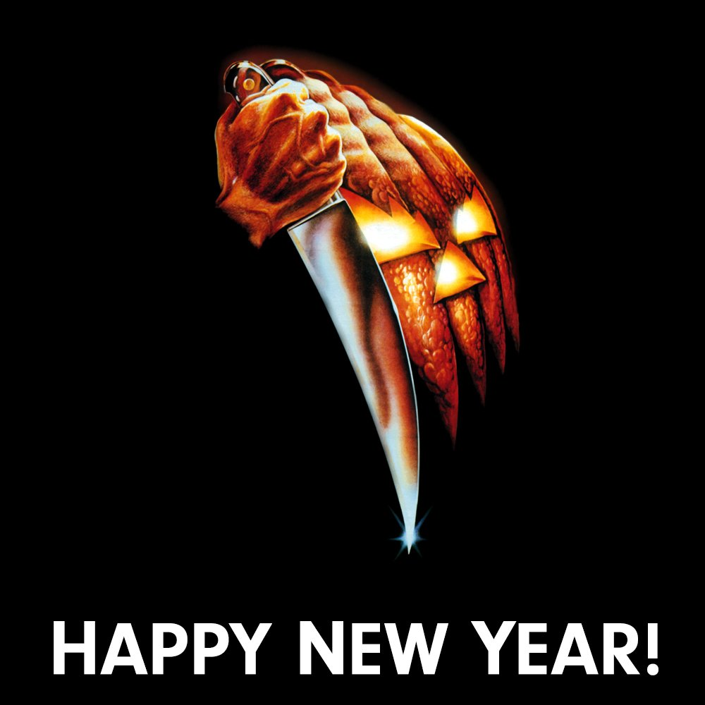 Happy New Year! 2018 is 'shaping up' to be a very big year for #Halloween and we're looking forward to sharing everything with you as soon as we can!!!  Stay Tuned ... 🎃 https://t.co/KXgcyFaGKJ