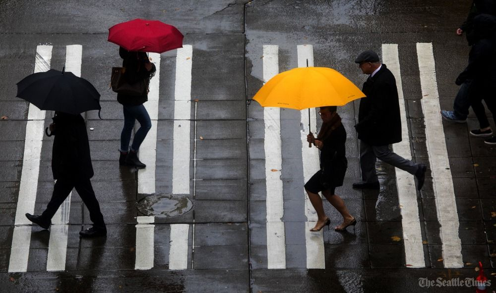 Congrats? Seattle completes wettest four-year stretch in recorded history