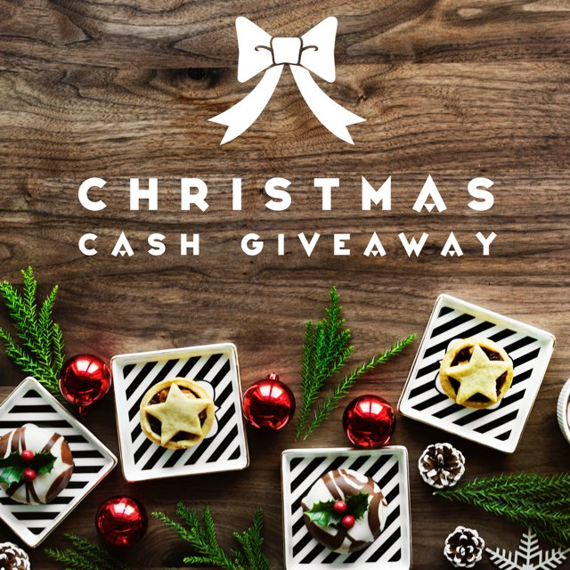 $200 Christmas Cash Giveaway (1/2 WW)