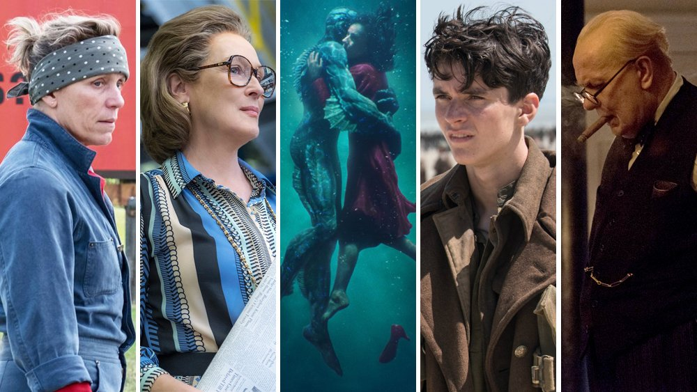 Awards editor @kristapley has issued his best predictions for 2018's Oscar nominees