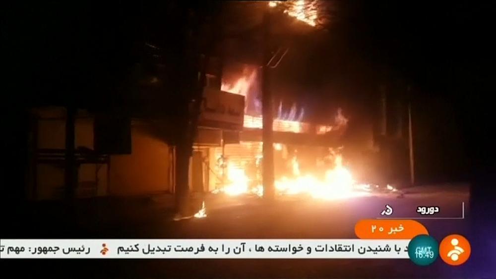Iran plays down violent protests
