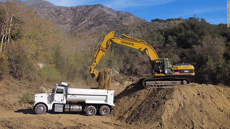 Mudslide danger replaces fire threat in Southern California