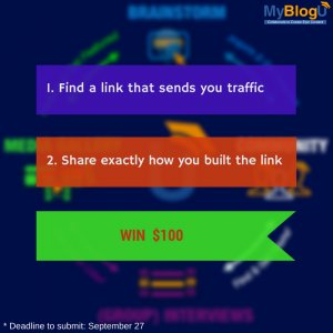 How to Build Traffic-Sending Links: The Quickest Way to Win $100