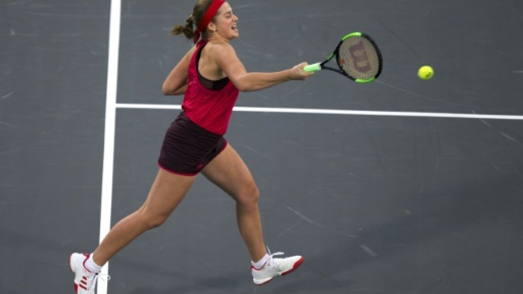 French Open champ Ostapenko suffers defeat in Shenzhen