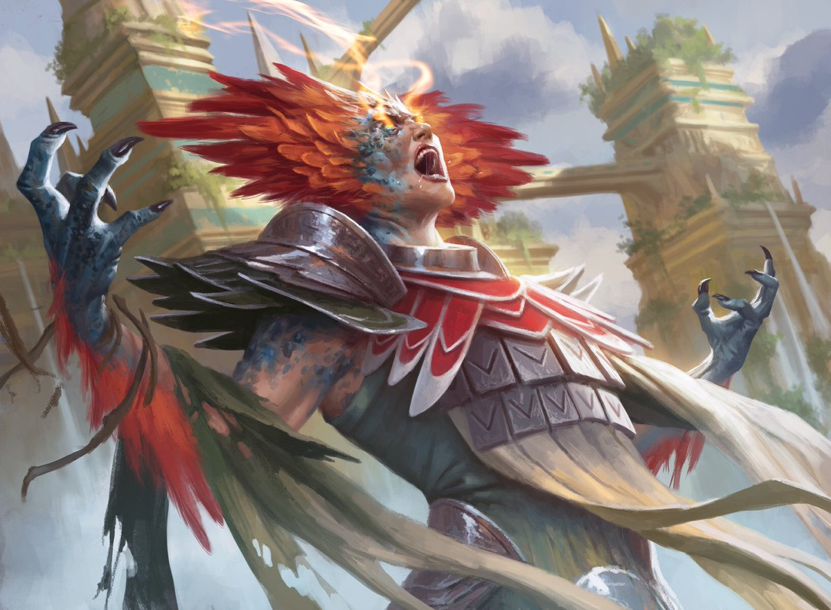 test Twitter Media - Form of the Dinosaur from Magic: The Gathering - Rivals of Ixalan. #MTGRIX https://t.co/1O4q9niDzx