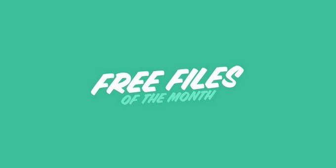 Grab Envatos Free Files of The Month  January 2018 freebies wordpress