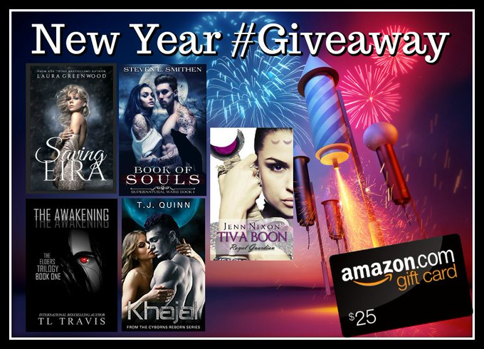 $25 New Year #Giveaway – WIN #Ebooks & an #Amazon Giftcard!!!