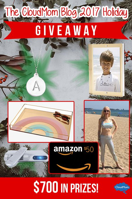 The CloudMom Blog 2017 Holiday Giveaway