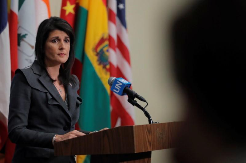 Haley warns North Korea against another missile test