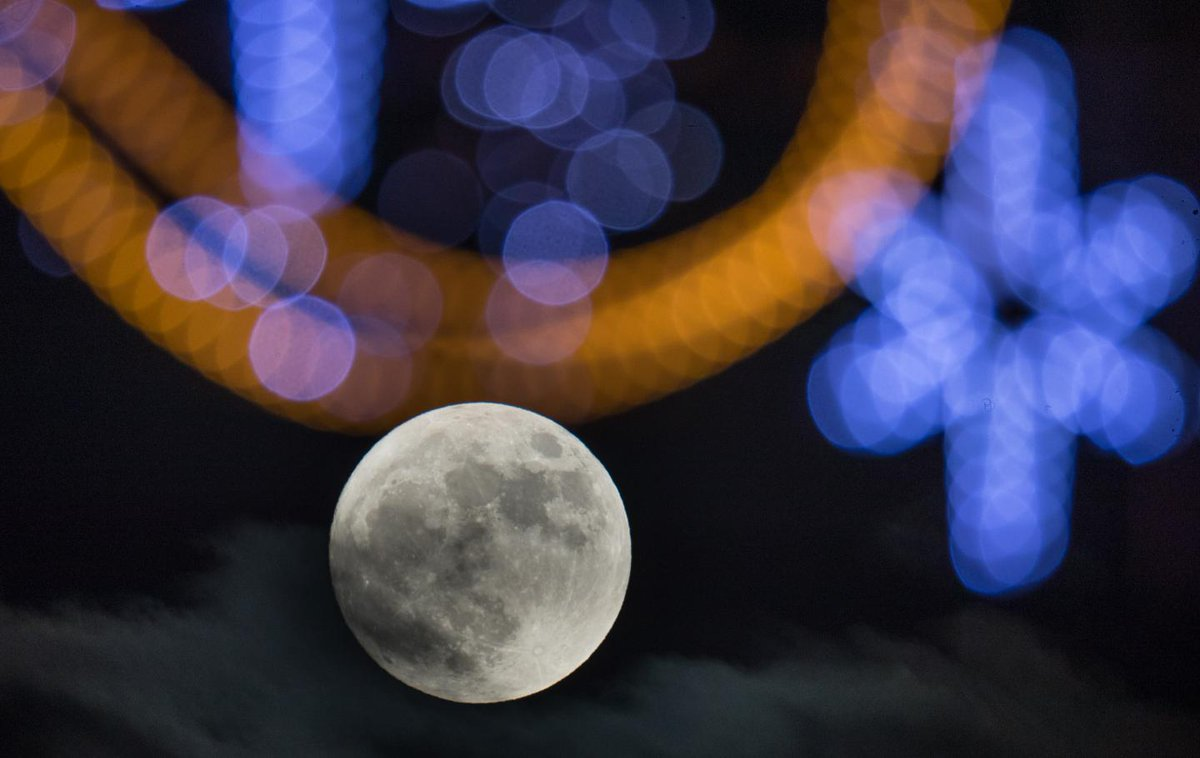 See the very best photographs of Monday's Wolf supermoon
