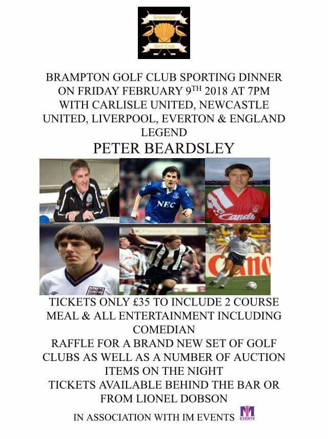 test Twitter Media - Up and coming event at BGC!! Football legend Peter Beardsley!! Tickets are available but limited!! 🏌🏻🏌🏻🏌🏻⚽️⚽️⚽️ https://t.co/h3TasETIwj