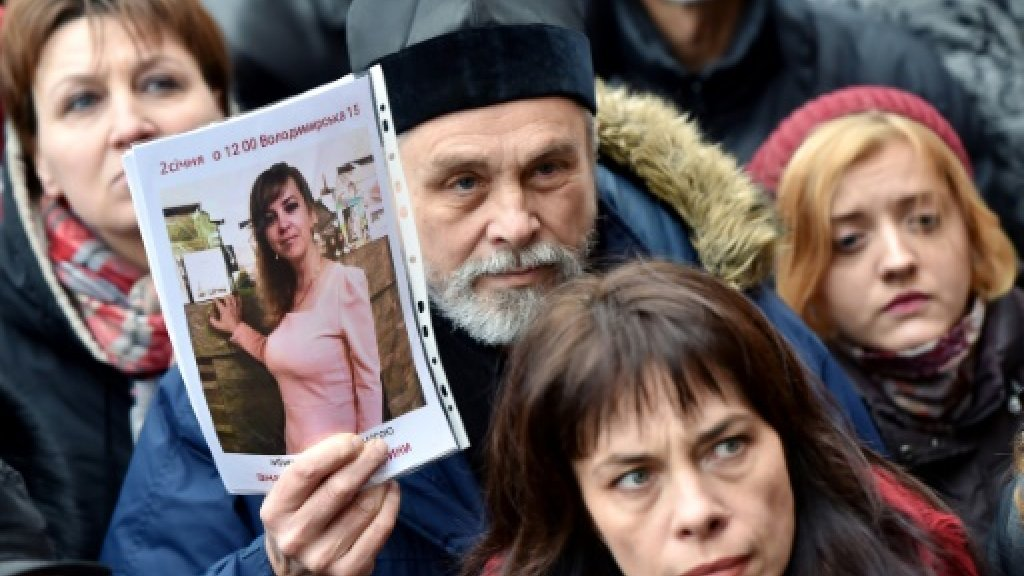 Outrage in Ukraine over activist lawyer's slaying