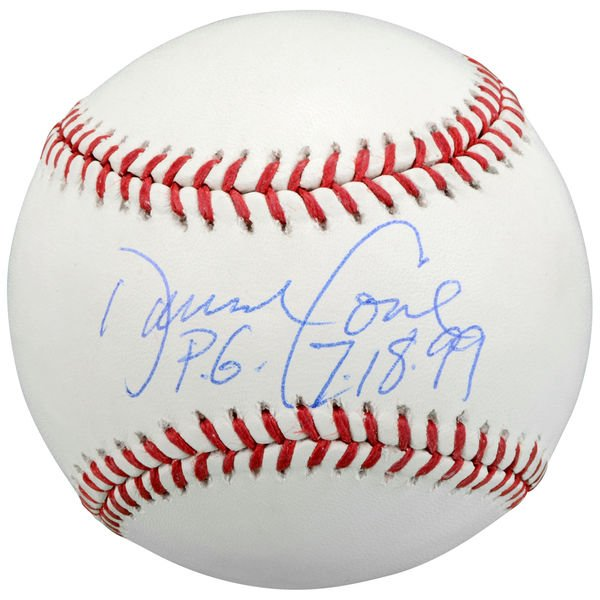 Happy Birthday David Cone!   Check out this signed  with Perfect Game inscription - PG 7/18/99.