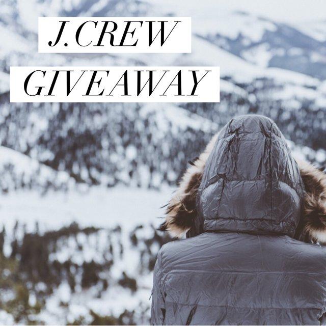 $150 J Crew Gift Card Giveaway (1/12 WW)