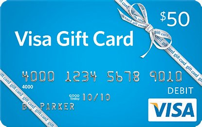 Win A $50 Giftcard