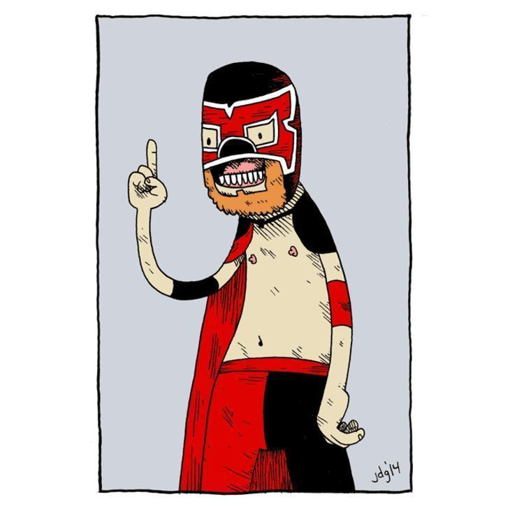 This wrestler needs a name. Thoughts??? https://t.co/8A0onuEEvw https://t.co/7a86VfMJLR