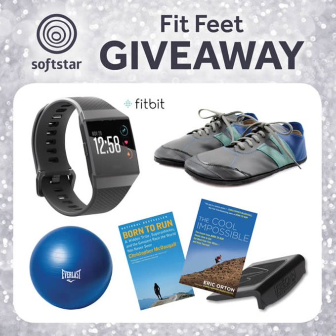 Kick Off 2018 with Softstar's Fit Feet GIVEAWAY / Softstar Blog