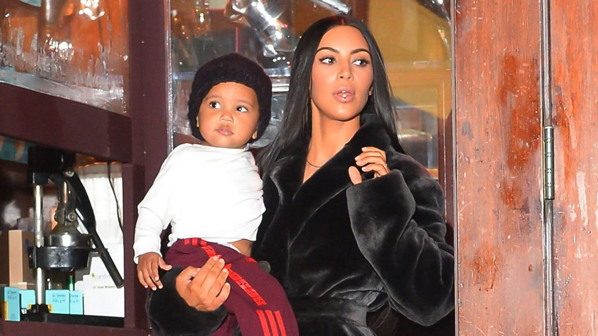 Kim Kardashian Reveals Saint West Came Down With Pneumonia Over The Holidays