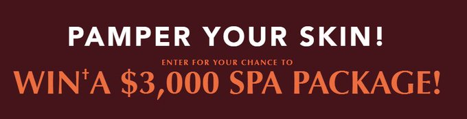 Cityline Palmers 2018 Contest. Win a $3,000 spa package