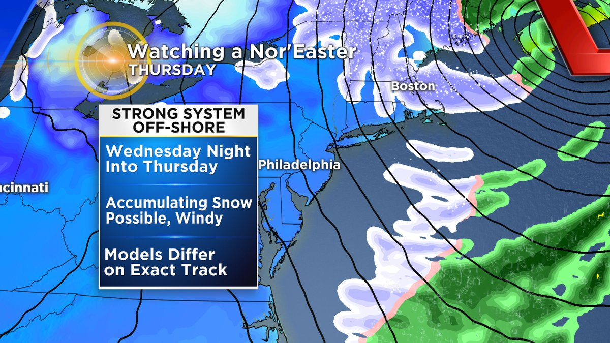 Winter Storm Watch Issued For Several New JerseyCounties