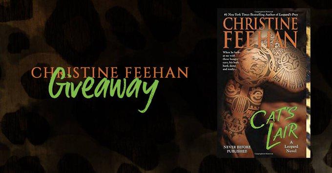 #ChristineFeehan #Giveaway – #Win ANY ChristineFeehan Novel! #FREEbooks #bookaddict