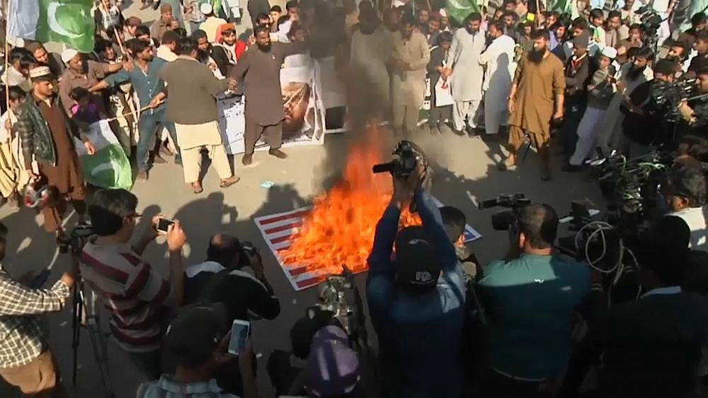 "Pakistan rejects Trump's ""lies and deceit"" tweet"