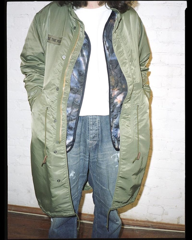 Stüssy and Alpha Industries M-51 Fishtail Parka and Liner. https://t.co/ulsa3rZOHI