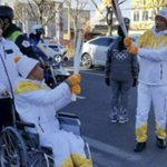 Disabled Chinese boy takes part in Winter Olympics torch rally - ASEAN/East Asia