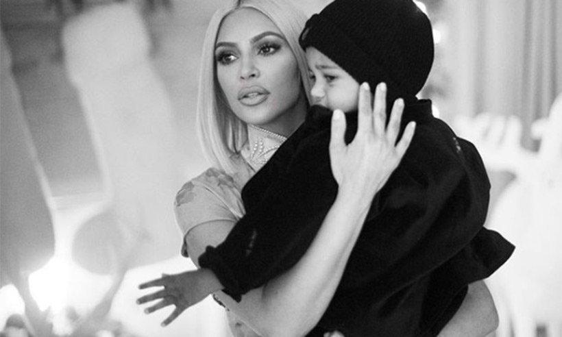 Kim Kardashian West thanks hospital staff after son Saint hospitalised with pneumonia: