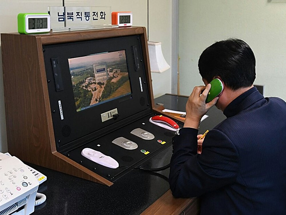 Signs of a thaw? North Korea reopens hotline with South Korea ahead of Winter Olympics