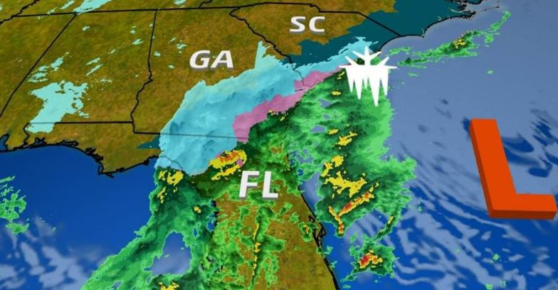 Florida sees snowfall as winter weather grips East Coast