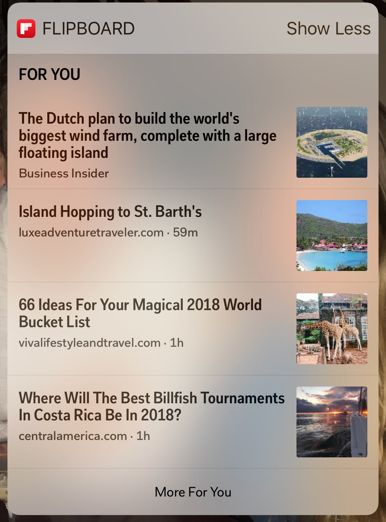 """#FlipTip: Add @Flipboard to your home screen to get the latest updates. Swipe right, scroll down to the """"edit"""" button and add the app. Select a story, it will open Flipboard. Happy reading! https://t.co/4nIA6rwZbb"""