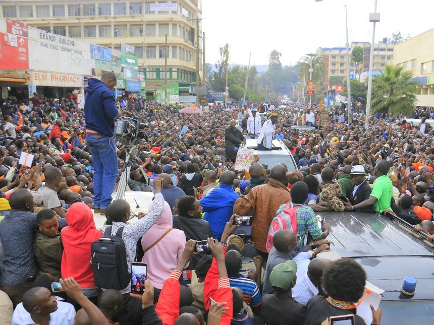 Raila on the spot as Nyamira, Kisii lose committee posts