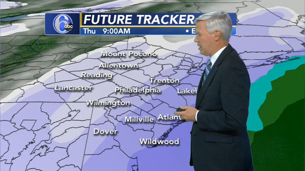 AccuWeather: Blizzard WARNING for parts of New Jersey; Winter Storm WARNING for Philadelphia