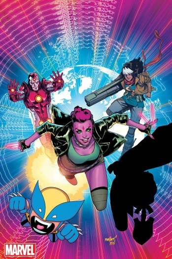 .@Marvel is reviving the 'Exiles' comic for a Spring launch