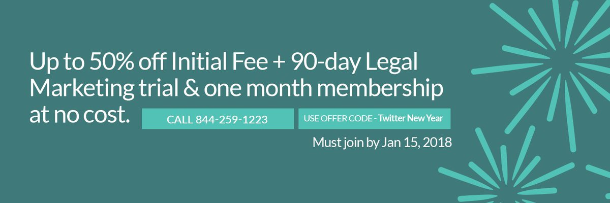 test Twitter Media - Don't leave opportunities back in 2017--make 2018 your firm's best year yet. By popular demand, we've extended our latest offer: Join WealthCounsel by January 15 to save up to 50% on your Initial Fee + 90-day Legal Marketing trial & one-month membership at no cost! https://t.co/kXsMTAUhas