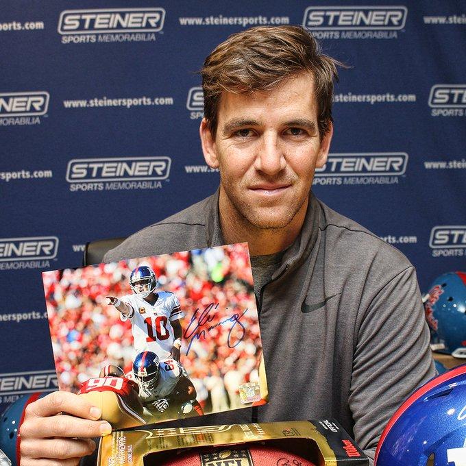 Eli Manning S Birthday Celebration Happybday To