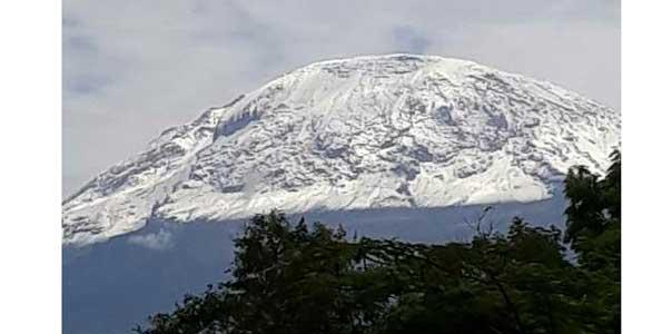 Mvua yaongeza theluji Mlima Kilimanjaro