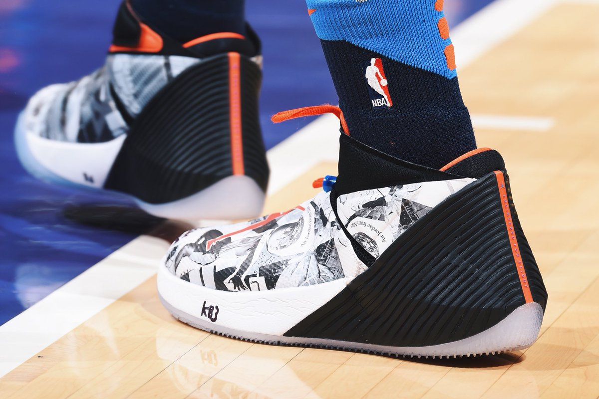 Russell Westbrook debuts the Jordan Why Not Zer0.1 PE tonight vs. Los  Angeles