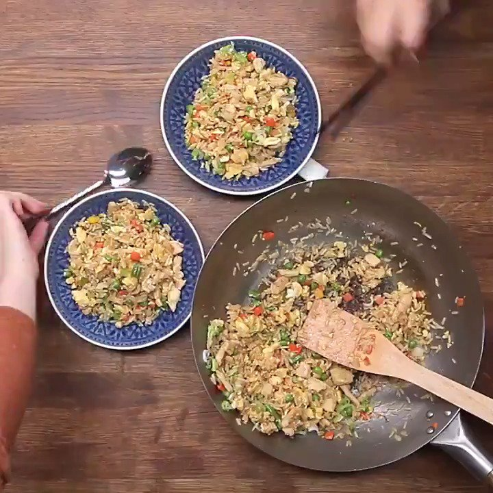 Chinese Chicken Fried Rice https://t.co/d1RCb3zIAs